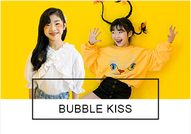 Girls in Different Styles -- BUBBLE KISS