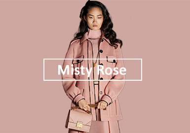 Misty Rose -- Solid Color Trend for Womenswear