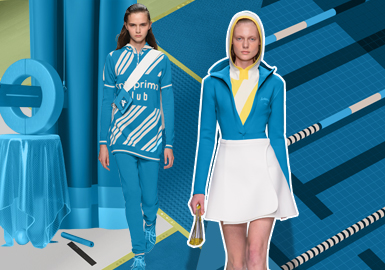 Energy Blue -- Theme Color Trend for Womenswear