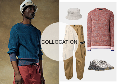 New Business Force -- Styling of Men's Knitwear