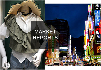 Playful and Girly -- Comprehensive Analysis of South Korean Markets for Womenswear