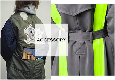 Chic Embellishments for Parkas -- Parka accessories for Menswear and Womenswear