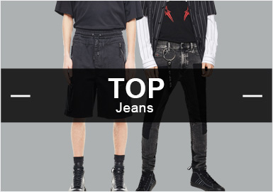 Jeans -- Analysis of Popular Items in Menswear Markets