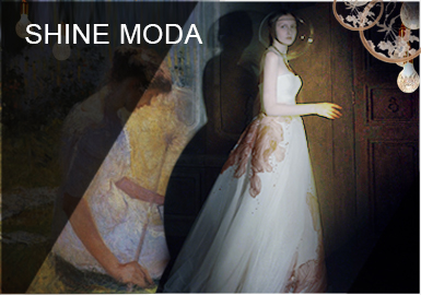 Muse in the Painting -- SHINE MODA