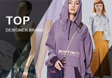 Top -- Analysis of Womenswear Designer Brands in the First Half of 2019
