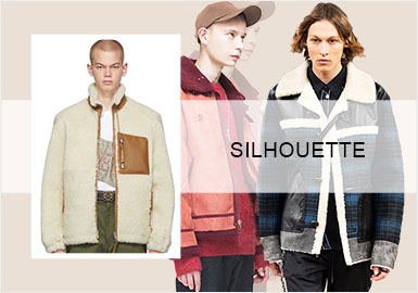 City Playground -- Silhouette Trend for Menswear Shearling
