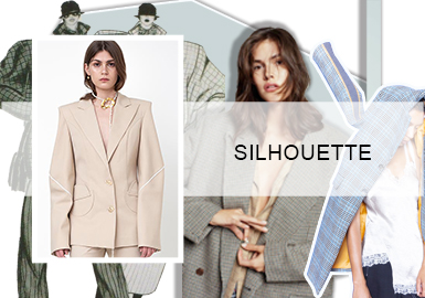 Balanced Styling -- Silhouette Trend for Women's Suits