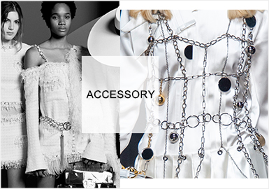 Heavy Metal -- Accessory Trend for Womenswear