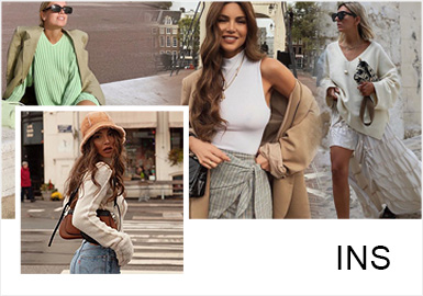 The Round-Up of INS Fashion Bloggers -- Simple French Knitwear