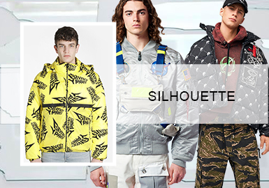 The Smart Puffa -- Silhouette Trend for Men's Puffas