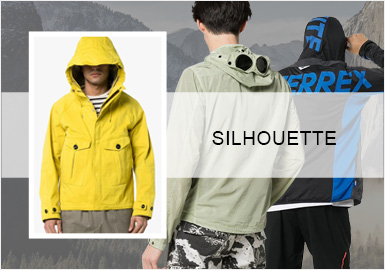 Functionality -- Silhouette Trend for Men's Jackets