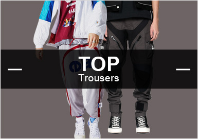 Pants -- Popular Items in Men's Markets