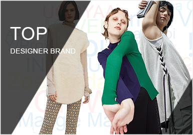 Top -- The Analysis of Women's Knitwear Designer Brands in the First Half of 2019