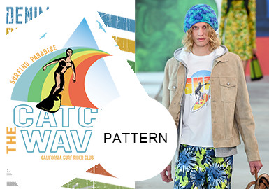 Rainbow Color -- The Pattern Trend for Menswear