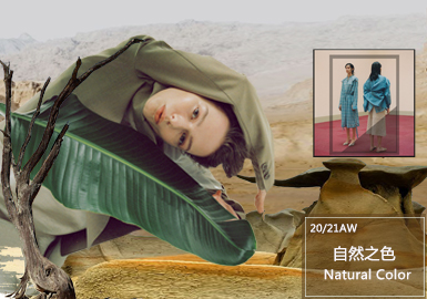 Natural Color -- The Thematic Color Trend for Linen and Cotton Womenswear