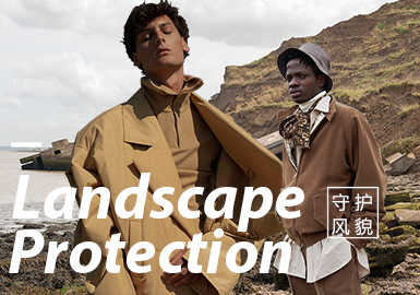 Landscape Protection -- The Thematic Fabric Trend for Menswear