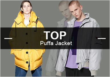 The Puffa -- The Hot Items in Menswear Markets