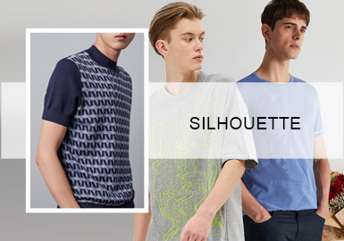 The Business Tee -- The Silhouette Trend for Men's Knitwear