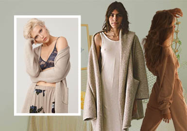 Tranquility -- The Key Silhouette Trend for Women's Loungewear