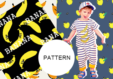Fruits -- The Pattern Trend for Kidswear
