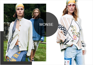 Relishing The Deconstruction-- The Catwalk Analysis of Monse Womenswear Knitwear
