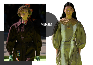Fashionable Girls-- The Catwalk Analysis of MSGM Womenswear
