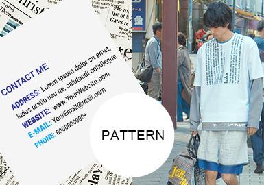 The Block Letter- Pattern Trend for Menswear