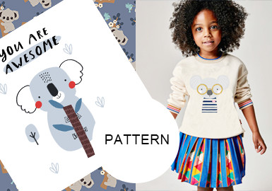 The Adorkable Koala-- The Pattern Trend for Kidswear