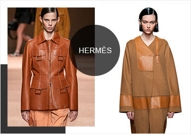 The Idealism under The Pink Sky- The Catwalk Analysis of Hermès Women's Leather/Fur