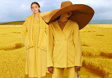 Earth Yellow- Theme Color Trend for Womenswear