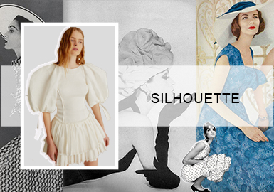 French Elegance- The Silhouette Trend for Women's Dresses
