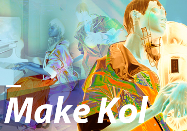 MAKE KOL- The Confirmation of Womenswear Theme Colors