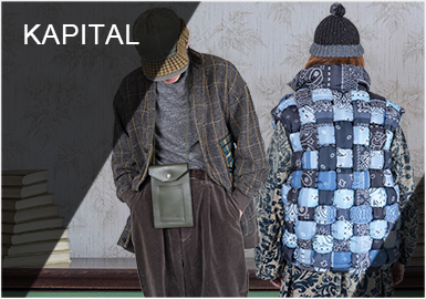 Carnival in Ecuador -- KAPITAL The Menswear Designer Brand