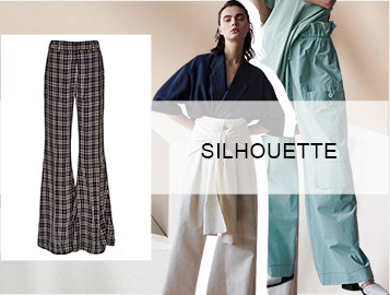 Leisure Time- The Silhouette Trend for Women's Trousers