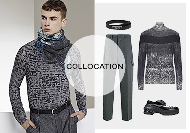 Urban Exploration- Clothing Collocation of Men's Knitwear