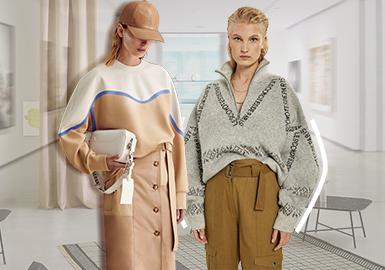 Popular Sweatshirts- The Silhouette Trend for Women's Knitwear Sweatshirts