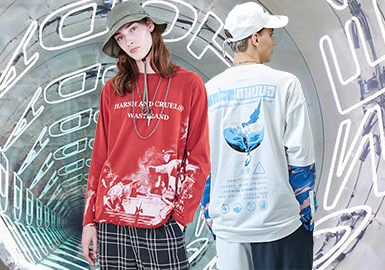 New Charm of Chinese Fashion- The Silhouette Trend for Men's T-shirts