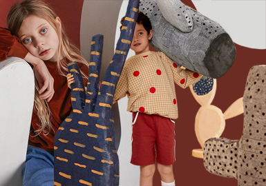 Spilled Chocolate Sauce- Theme Design & Development for Kidswear