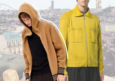 Multidimensional Styles-The Silhouette Trend for Men's Knitwear Jackets