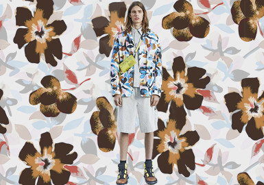 Teenager Boys and Flowers -- The Pattern Trend for Menswear