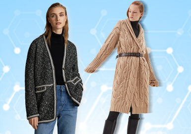 Overcoats -- The TOP List of Women's Knitwear