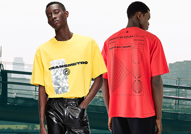 Awakening Fashion -- The Silhouette Trend for Men's T-shirts