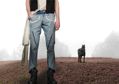 The Journey of Denim -- The Silhouette Trend for Men's Jeans