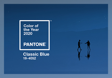 The Healing Classic Blue -- Pantone Color of the Year 2020