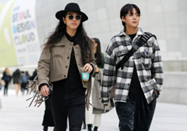 Independent Selves -- The Comprehensive Analysis of Menswear Street Snaps