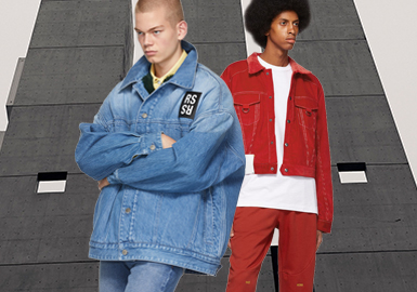 Denim -- The Silhouette Trend for Men's Denim Jackets