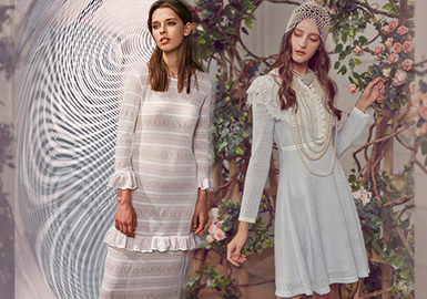 Dress and Spring -- The Silhouette Trend for Women's Knitted Dress