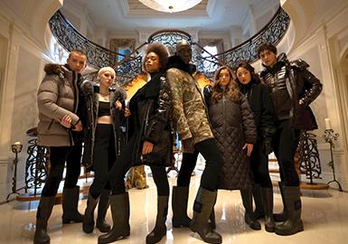 Fluffy Winter -- MOOSE KNUCKLES Womenswear Designer Brand