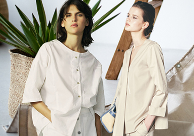 Interpretation of Modern Simplicity -- The Silhouette Trend for Women's Shirts