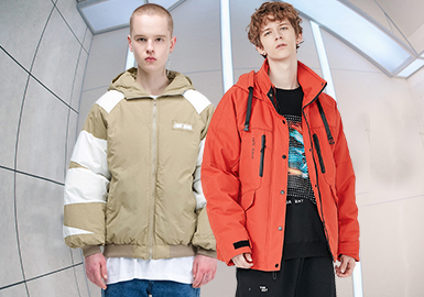 Fashion Accumulation -- The silhouette Trend for Men's Puffa Jackets